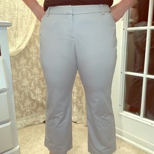 Light gray pants for the office